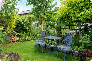 様々なお庭を楽しむ